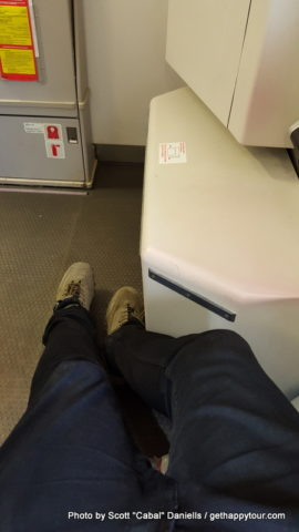 Extra leg room on Iberia
