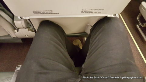 Iberia have horrible leg room